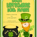 Lucky Leprechauns Dolch Phrases