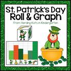 Lucky Leprechauns! St. Patrick's Day Roll & Graph Activity