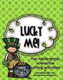 Lucky Me! {St.Patrick's Day Interactive Writing & Coloring Pack}