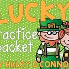 Lucky Practice Packet {No Prep Printables for St. Patrick's Day}