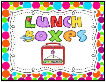 Lunch Box Sign FREEBIE