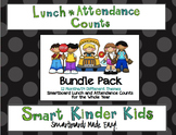 3 Choice Lunch Count and Attendance for Smartboard - BUNDL