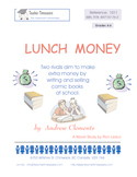 Lunch Money by  Andrew Clements: Novel study for Grades 4-6