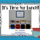 "Lunch Pictures (Choices) ""What's for Lunch?"""