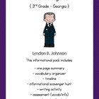 Lyndon B. Johnson Activity Pack
