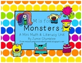 M is for Monster! A Mini Math and Literacy Unit