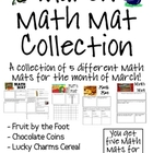 MARCH Math Mat Collection:  ASSORTED FIVE PACK