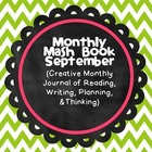 MASH Book (Monthly Binder & Scrapbook)  - September
