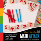 MATH ATTACK!: First Grade Common Core Math Mega-Pack {Addi