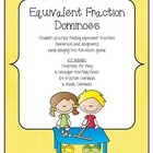 MATH Equivalent Fractions Dominoes