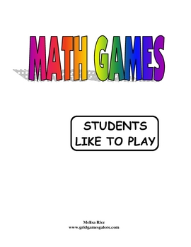 MATH GAMES Students LOVE to Play