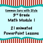 MATH MODULE 1 PowerPoint Lessons Grade 3