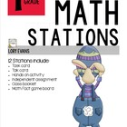 MATH STATIONS - Common Core - Grade 1 - APRIL