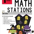 MATH STATIONS - Common Core - Grade 1 - OCTOBER