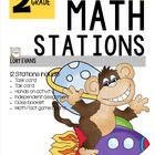 MATH STATIONS - Common Core - Grade 2 - MAY