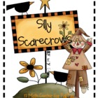 MATH STATIONS - Silly Scarecrows