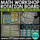 MATH WORKSHOP ROTATION BOARD