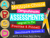 M/C Comprehension Assessments for F&P BAS Kit 2 Books {Ind