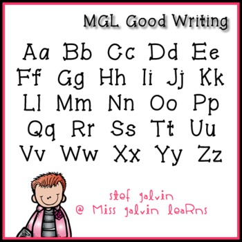 MGL Free Font - Good Writing