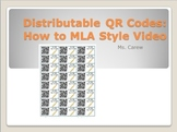 MLA Style How-To Video QR Code