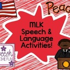 MLK Speech & Language Activities!