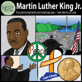 MLK-Martin Luther King Jr. & Civil Rights Clipart {Messare