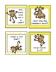 MONKEYS! Centers for kindergarten, first, second, math & literacy