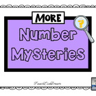 MORE Math Common Core Number Mystery Task Cards