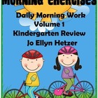 MORNING EXERCISES -  daily morning work: Kindergarten Review