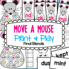 MOVE A MOUSE - Printable Phonics Game Final Blends