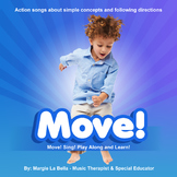 The MOVE CD! Action songs 4 teaching special education kid