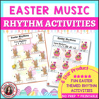 MUSIC: Easter Rhythm Activities
