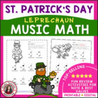 MUSIC: Leprechaun Music Math