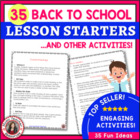 MUSIC: Lesson Starters and other Activities for Music Classes