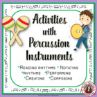 MUSIC: PERCUSSION CHART and COMPOSITION