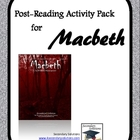 Macbeth Post-Reading Ideas and Activities