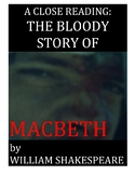 Macbeth Unit, Pre and Post Reading Quizzes, Study Guides,