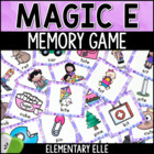 Magic E Game - Memory Match