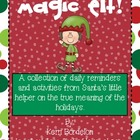 Magic Elf Activity and Writing Pack