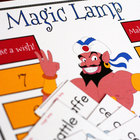 Magic Lamp Hard and Soft C and G Phonics Game (Words Their Way)