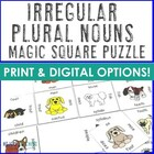 Magic Square Plural Irregular Nouns