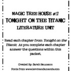 Magic Tree House #17 Tonight on the Titanic Literature Unit