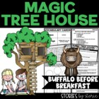 Magic Tree House #18 Buffalo Before Breakfast Book Questions