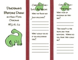 Magic Tree House: Dinosaurs Before Dark trifold