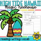 Magic Tree House High Tide in Hawaii Reading Response Acti