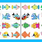 Fishing For Sight Words - Magnetic Literacy Center- Set 2