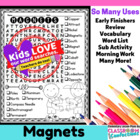 Magnets Word Search