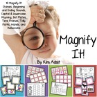 Magnify It! Center Games for Letters, Sounds and Number by