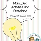 Main Idea Activities and Printables