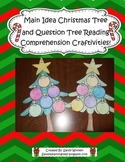Main Idea Christmas Tree & Question Tree Comprehension Boo